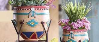 100 лучших идей: красивые подставки для цветов на фото
